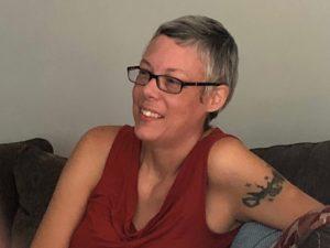 a portrait of Kellie