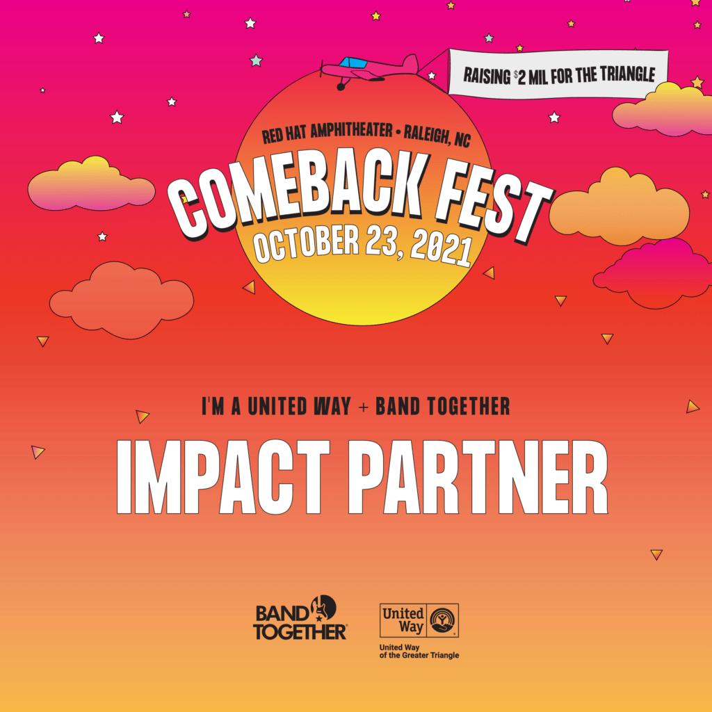 Comeback Fest Impact Partner